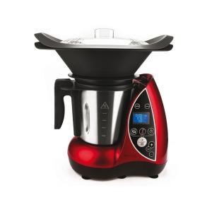 Küchenmaschine Domoclip DOP142 - Rot/Schwarz