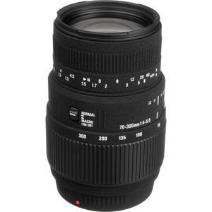 Objectif Sigma F(FX)/EF 70-300mm f/4-5.6 DG Macro pour Nikon/Canon
