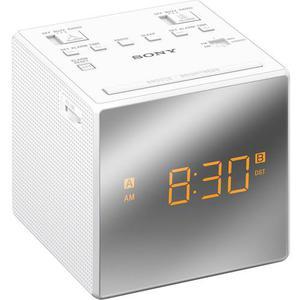 Rádio Relógio Sony ICF-C1T - Branco
