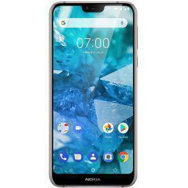 Nokia 7.1 32 Gb Dual Sim - Silber - Ohne Vertrag