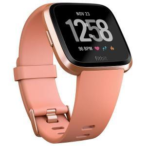 Montre Cardio Fitbit Versa - Or rose