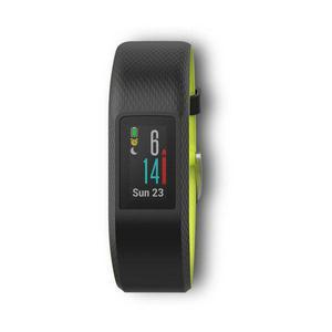 Smart Watch Cardiofrequenzimetro GPS Garmin Vívosport - Nero/Giallo
