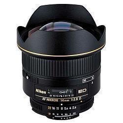 Lens Nikon AF Nikkor 14mm F/2.8D ED