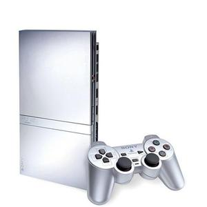 Consola Sony PS2 Slim - Plata
