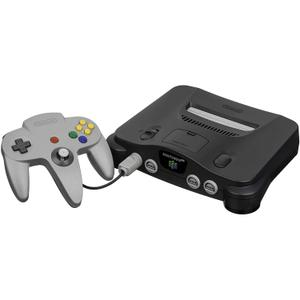 Nintendo 64 - HDD 0 MB - Negro