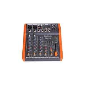 Mixer Ibiza MX 401 - Grijs/Oranje