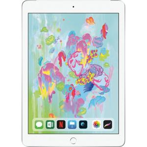 """iPad 9,7"""" 6e generatie (2018) 9,7"""" 32GB - WiFi + 4G - Zilver - Simlockvrij"""