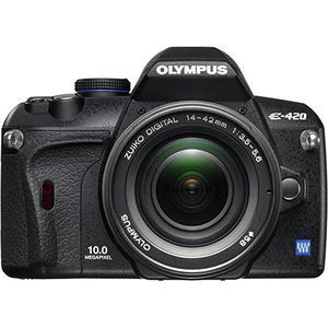 Reflex - Olympus E-420 - Nero + Obiettivo 14-42MM 1: 3.5-5.6 ED