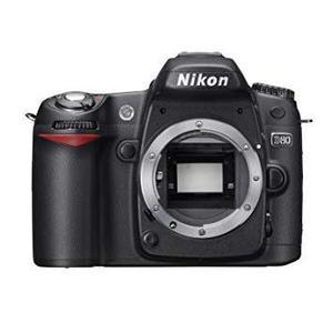 Reflex - Nikon D80 Boitier nu - Noir