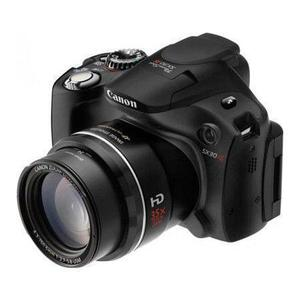 Bridge camera Canon Powershot SX30 IS - Zwart - lens Canon Zoom Lens 28-840 mm f/2.7-5.8