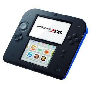 Nintendo 2DS - HDD 2 GB - Schwarz/Blau