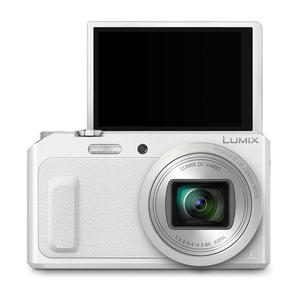 Kompaktkamera Panasonic Lumix DMC-TZ57 Weiß + Objektiv Lumix DC Vario 4.3-86.0 mm f/3.3-6.4