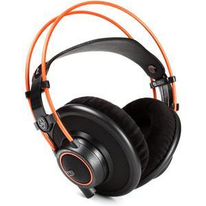 Kopfhörer mit Mikrophon Akg K712 PRO - Schwarz/Orange