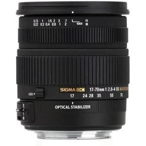 Objektiivi Sigma EF 17-70mm f/2.8-4