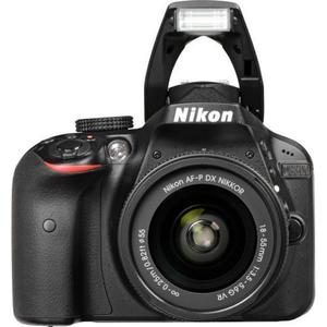 Reflex Nikon D3300 - Noir + Objectif AF-P DX 18-55MM F/3.5-5.6G VR