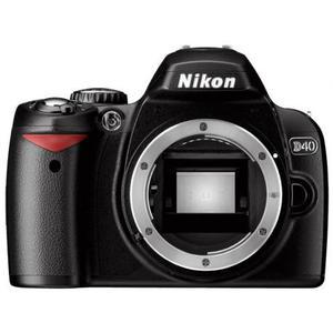 Reflex Nikon D40 Boitier Nu - Noir