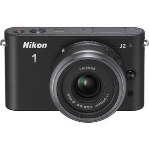 Hybride - Nikon 1 J2 - Noir  + Objectif 11-27.5 mm