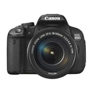 Reflex Canon EOS 650D - Musta + Objektiivi Canon 18-55mm f/3.5-5.6 IS STM