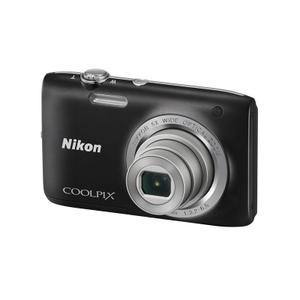 Compactcamera Nikon Coolpix S2800 - Zwart
