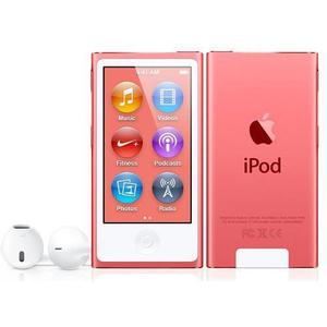 MP3-player & MP4 16GB iPod Nano 7 - Rosa