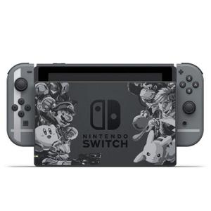 Console - Nintendo Switch 32 Go + Manettes - Edition Limitée Collector Super Smash Bros Ultimate