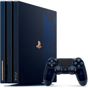 Console Sony Playstation 4 pro 2To + Manette +  500 million limited edition - Bleu