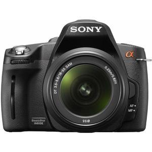 Spielgelreflex - Sony DSLR-A390 + Objektiv 18-55 mm - Schwarz