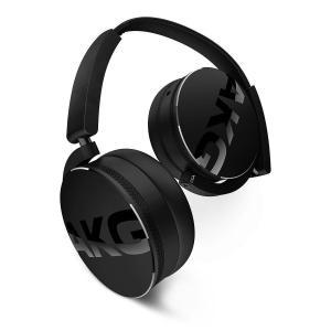 Hoofdtelefoon Bluetooth met Microfoon AKG Y50BT - Zwart