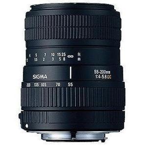Objektiv Sigma 55-200 mm 1: 4-5,6 DC