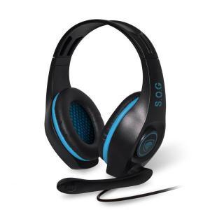 Casque Gaming avec Micro Spirit Of Gamer PRO-SH5 - Noir/Bleu