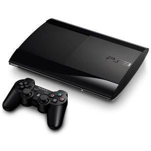 Console PS3 PlayStation 3 Super Slim 4004A 12Go + 1 Manette - sans boite - Noir