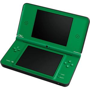 Konsole Nintendo DSI XL  - Schwarz & Grün