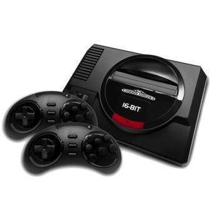 Consola Sega Mega Drive - Negro