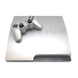 Console Sony Playstation 3 Slim 320 Go + 2 Manettes - Argent