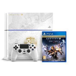 Console Sony Playstation 4 500 Go + Manette + Destiny Le roi des corrompus - Blanc
