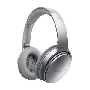 Hoofdtelefoon Bluetooth met Microfoon Bose QuietComfort 35 - Zilver