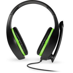 Casque Réducteur de Bruit Gaming avec Micro Spirit Of Gamer PRO-XH5 - Noir/Vert