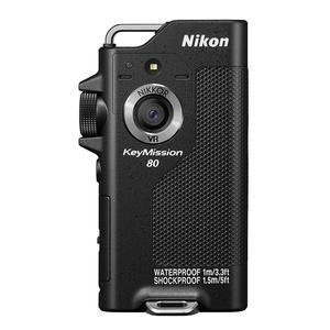 Action Sport-Kamera Nikon KeyMission 80 - Schwarz