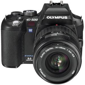 Reflex - Olympus E 500 - Noir + Objectif 14-45 mm
