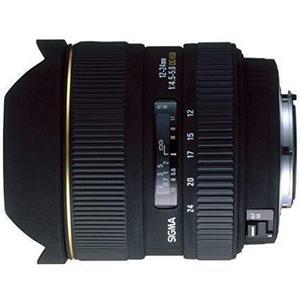 Objektiivi Sigma F 12-24mm f/4