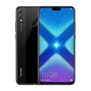 Huawei Honor 8X 128GB Dual Sim - Musta (Midnight Black) - Lukitsematon