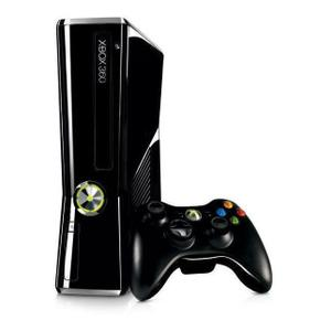 Console Microsoft Xbox 360 Slim 4 Go - Noir