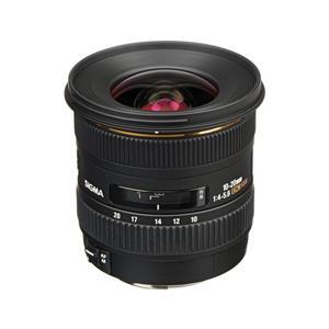 Lens Sigma EF-S 10-20mm f/4-5.6 EX DC HSM voor Canon - Zwart