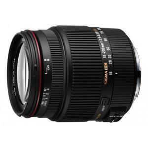 Objectif Sigma F(DX) 18-200mm f/3.5-6.3 II DC OS HSM pour Nikon