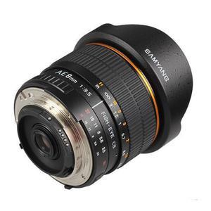 Objectif Samyang F AE 8mm f/3.5 Fisheye CS pour Nikon