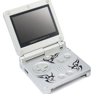 Console Nintendo Game boy Advance Sp - Argent - Edition Tribal