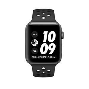 Apple Watch (Series 2) 42 mm - Alluminio Espartano Grey - Cinturino Sport Nike Nero