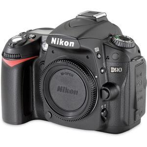 Reflex - Nikon D90 Boitier Nu - Noir