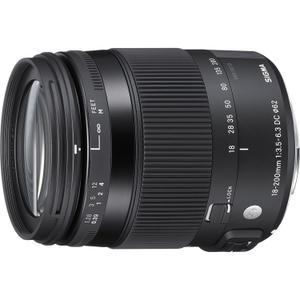 Objektiivi Sigma K 18-200mm f/3.5-6.3
