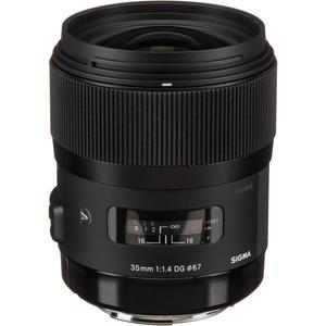 Objectif F 35mm f/1.4
